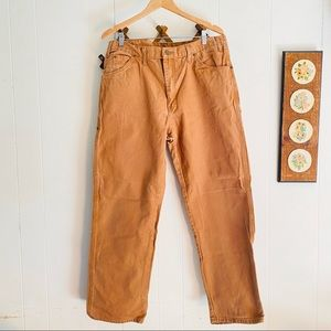 Dickies Tan Thick Cotton Pants